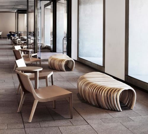 Benches & Ottomans by Stefan Lie seen at Sydney Opera House, Sydney - Ribs Benches