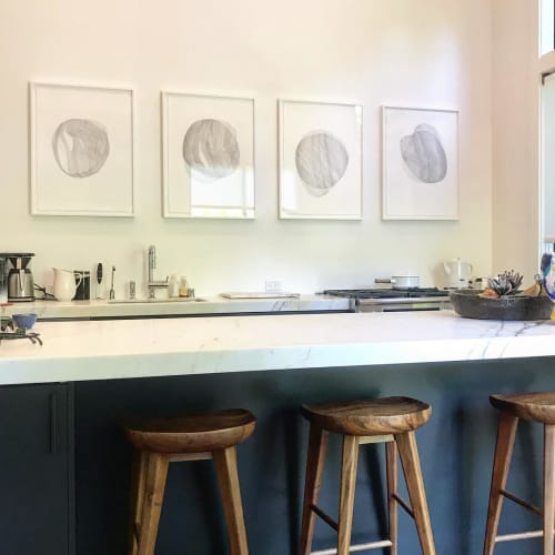 Paintings by Marta Elise Johansen seen at Private Residence, Mill Valley - Dreaming of You