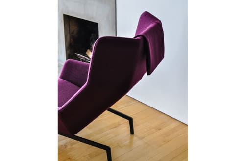 Chairs by Niels Bendtsen at Private Residence, Vancouver - Park lounge Chair