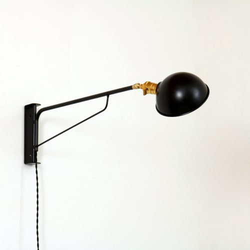 Lamps by ONEFORTYTHREE at The Jennings Hotel, Joseph - Industrial Wall Lamp