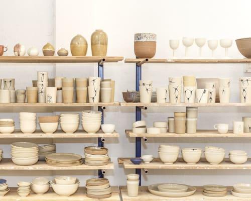 Anna Bystrup Keramik - Sculptures and Vases & Vessels