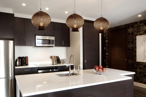 Pendants by Tempo Luxury Home seen at Apartment 1010, New York - Custom Pendants
