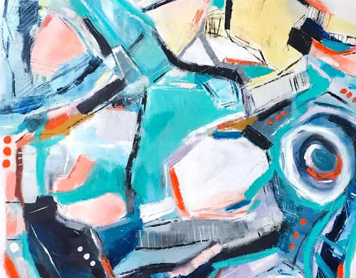 Paintings by Melanie Biehle seen at Seattle, Seattle - I Miss Los Angeles Sometimes