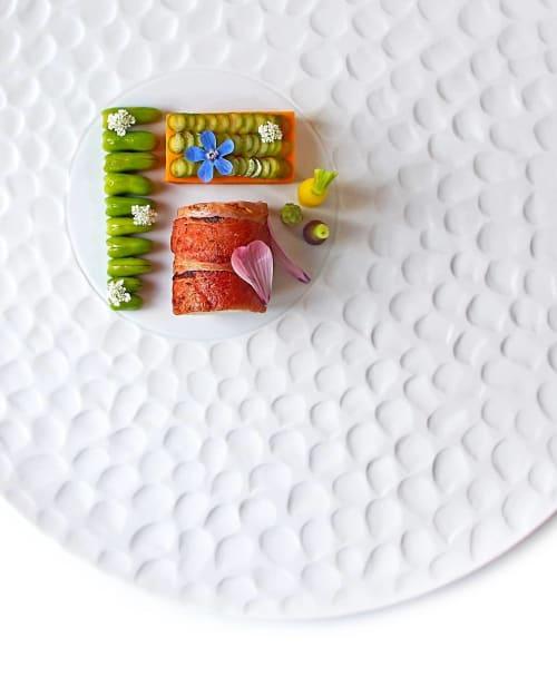 Ceramic Plates by Mieke Cuppen seen at Lisbon, Lisbon - Texture plate Escamas
