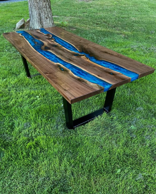 Tables by Barn Born Furniture seen at Pittsburgh, Pennsylvania, Pittsburgh - The Tahoe Table