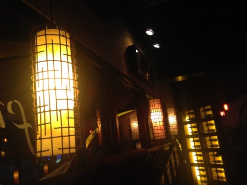 Pendants by CP Lighting seen at Carolina Kitchen Bar & Grill, Hyattsville - Acrylic Pendants