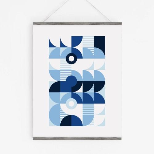 Art & Wall Decor by Michael Grace & Co - Monochromatic Machine Series — 3 Print Set