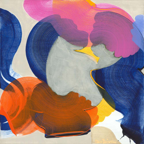Paintings by Claire Desjardins seen at Creator's Studio, Gore - At Home