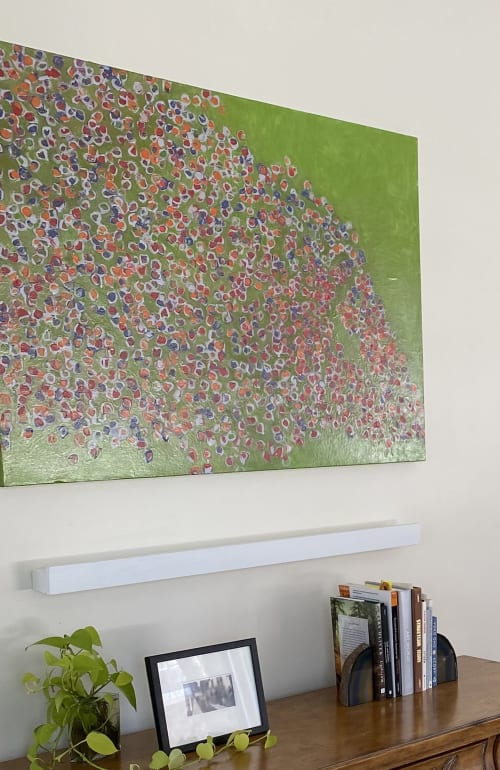 Paintings by Farida Hughes seen at Private Residence, Minneapolis - Lawn Music | Oil on canvas