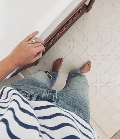 Tiles by Fireclay Tile seen at Work Your Closet, Winter Park - Floor Tile