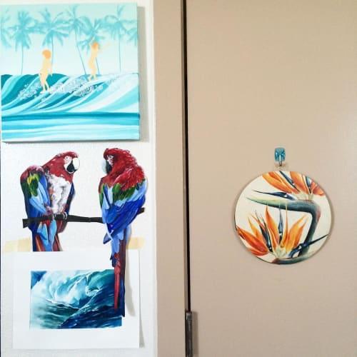 Paintings by Mae Waite seen at Private Residence, Honolulu - Paintings
