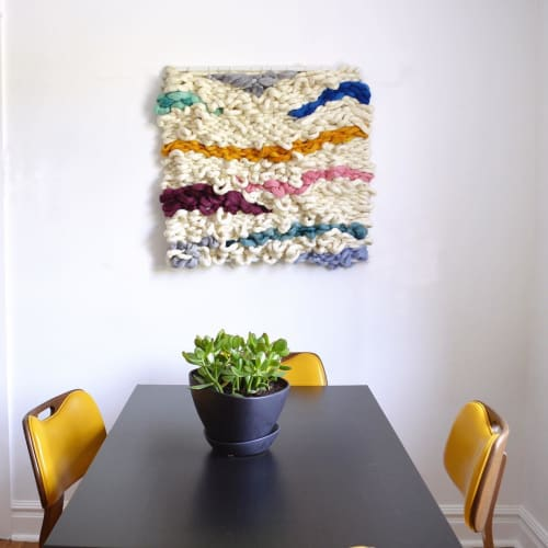 Wall Hangings by Broadwick Fibers at Private Residence, Denver - Fiber Wall Art