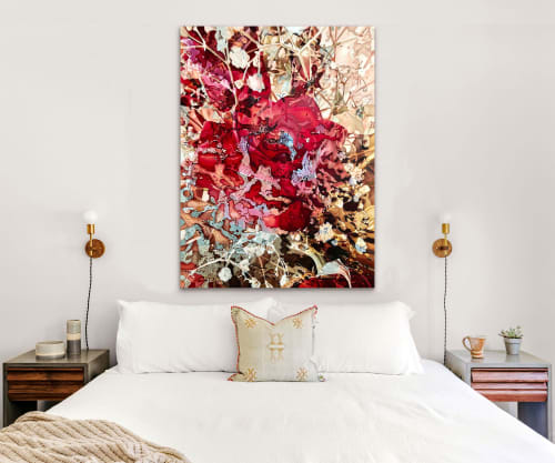 Paintings by Melissa Patel seen at Private Residence, Toronto - Is This Desire? - oil painting
