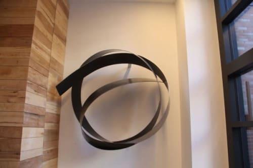 Sculptures by Joe Gitterman Sculpture seen at Washington, Washington - Arris Wall Knot