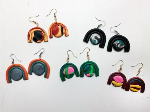 Apparel & Accessories by The Wavering Line - Artist: Ky Novak seen at Little Piece Of My Heart, Loveland - Bliss Earrings