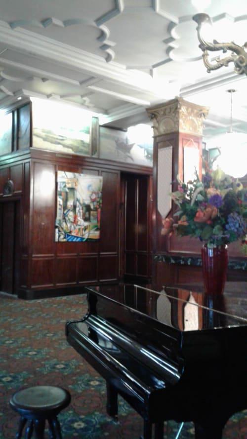 Art & Wall Decor by Cheryl Hicks seen at The Monticello Hotel, Longview, WA, Longview - Frankie Sinatra Plays the Lobby