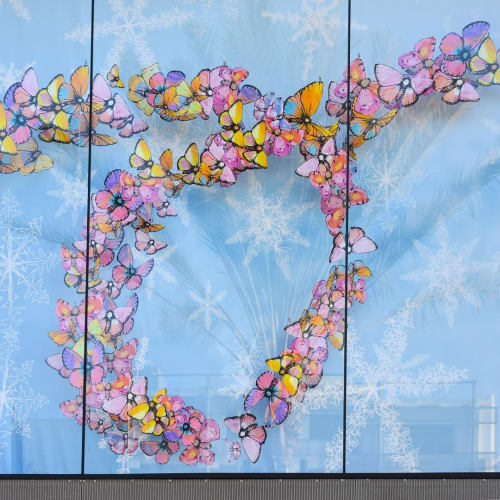 Art & Wall Decor by Sage Vaughn seen at Westfield Century City, Los Angeles - Joy
