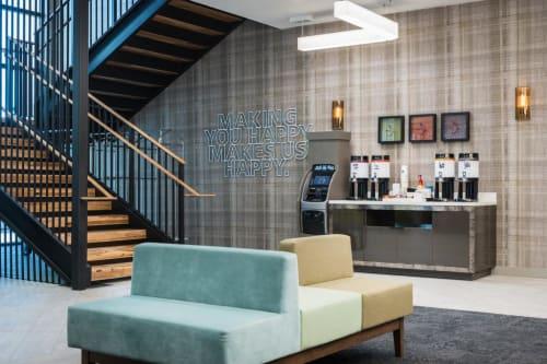 Interior Design by MONIOMI seen at Hampton Inn & Suites by Hilton Miami Brickell Downtown, Miami - Hampton Inn & Suites Miami Downtown