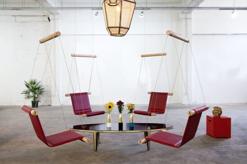 Chairs by 1Nayef Francis seen at Nayef Francis Design Studio, Beirut - Trapeze Chair