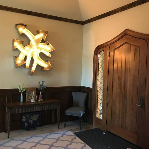 Sculptures by Dylan Mortimer seen at Private Residence, Denver - Pneuma