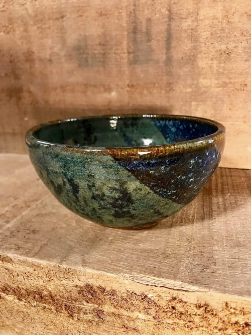 Large Stoneware Salad Bowl 21cm Diameter Marble Effect Grey Bowl Hot Vegetable