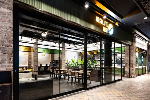 Architecture by Studio Hiyaku seen at Westfield Hornsby, Hornsby - Absolute Thai