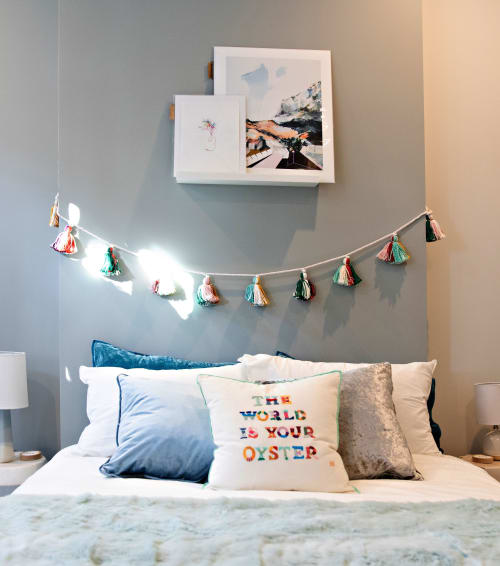 Fiber Paintings for Airbnb | Art & Wall Decor by Emma Balder