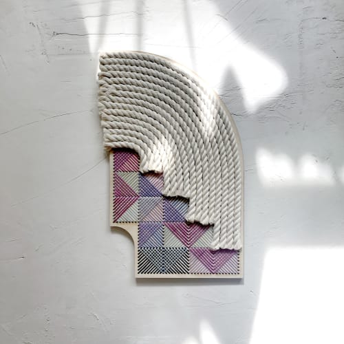 Macrame Wall Hanging by Nosheen iqbal seen at Creator's Studio, Richardson - Arches & Stairs 1