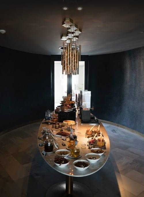 Chandeliers by ILANEL Design Studio seen at Four Seasons Hotel Casablanca, Casablanca - Rain Chandelier