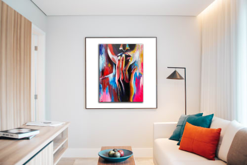 Paintings by Kelly Ser Atelier seen at Private Residence - BBBY #1, 2020