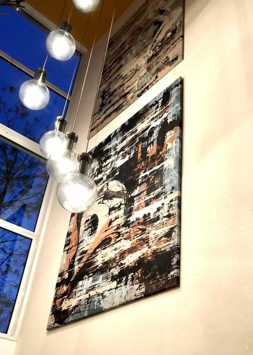 Paintings by ANDREVISSER.ART seen at Private Residence, Amsterdam - AV 0297