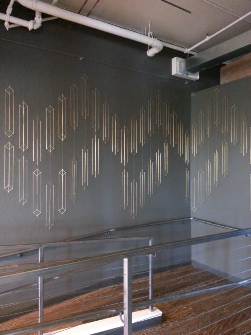 Art & Wall Decor by Beth Naumann seen at Stripe, San Francisco - Brass Installation