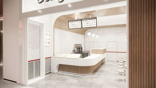 Interior Design by Studio Hiyaku seen at Gateway Shopping Centre, Yarrawonga - Gongcha Gateway