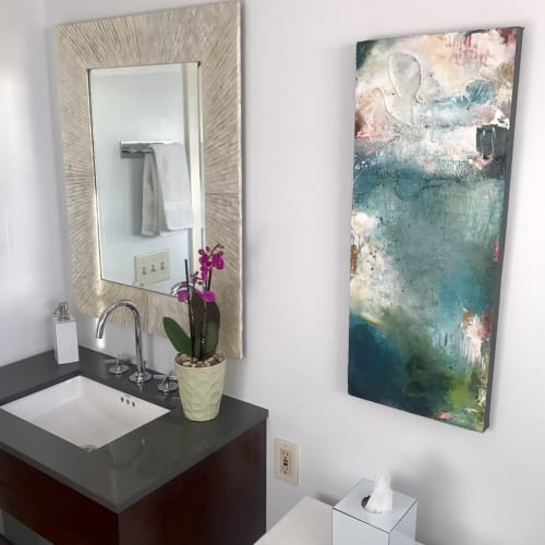 Paintings by Jennifer McHugh seen at Private Residence, San Diego - Where the Wild Thyme Blows