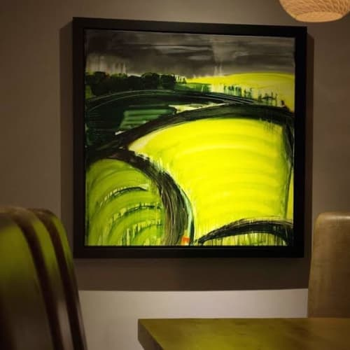 Paintings by Gina Parr seen at Private Residence, London - Field of View - Painting