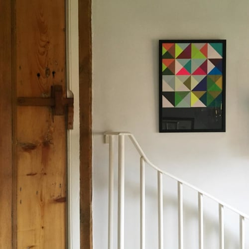 Art & Wall Decor by Kate Gibb seen at Private Residence, London - Press & Pull