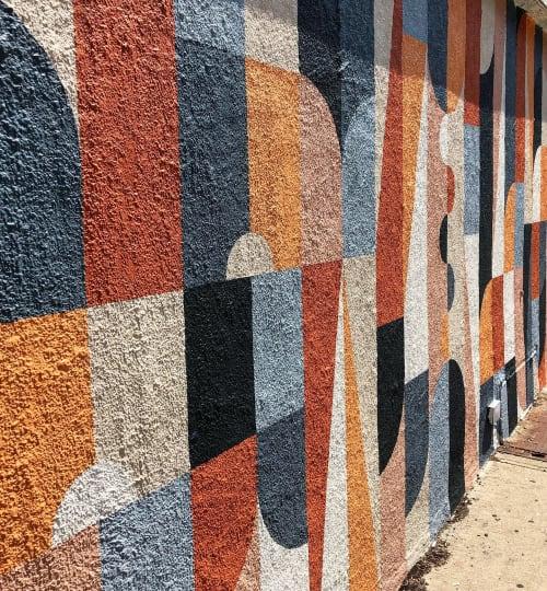 Street Murals by Scott Albrecht seen at 544 Court St, Brooklyn - Carroll Gardens Mural