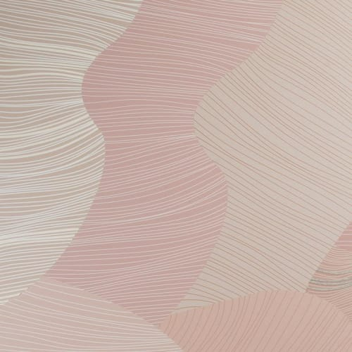Wallpaper by Jill Malek Wallpaper - Reef   Dimensional Felt