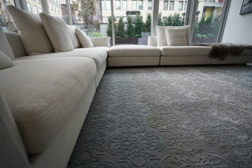 Rugs by Lucy Tupu Studio seen at Private Residence, New York - Custom Area Rug