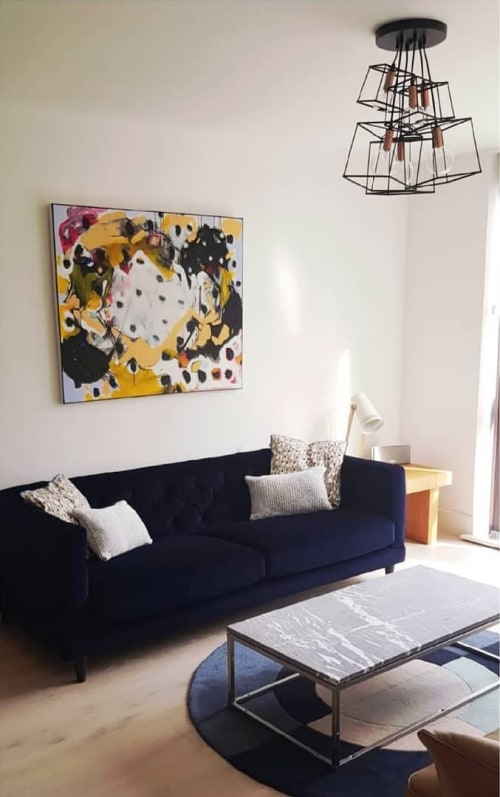 Paintings by Emily Bartlett seen at Private Residence, Didsbury - DART