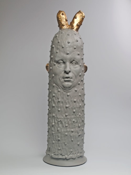 Sculptures by Paige Wright seen at Portland, Portland - Let Me Slip into Something....