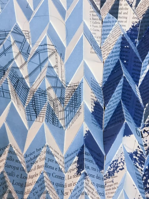Wall Hangings by Paola Bazz seen at Private Residence, London - origami identity #8