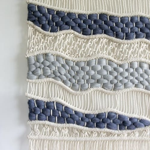 "Macrame Wall Hanging by Rianne Aarts seen at Private Residence, Groningen - ""Laura"""