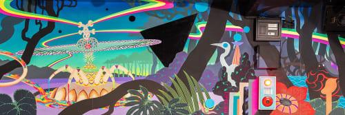 Yuki Nishimura - Murals and Art