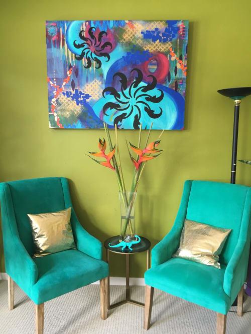 """Paintings by Catalina Garreton seen at San Francisco, San Francisco - Commission Painting """"DJ Bliss"""" - San Francisco, CA"""