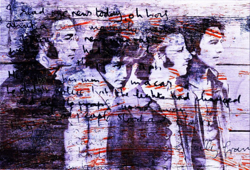 Art & Wall Decor by Sabeena Jindal seen at Private Residence, Atlanta - Beatles