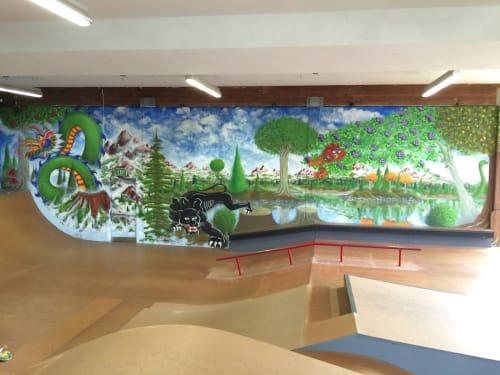Todd K. Lown - Murals and Street Murals