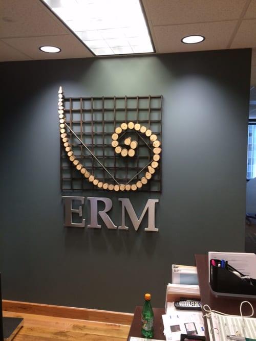 Sculptures by Craig Robb seen at ERM, Denver - Logo