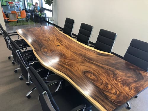 Tables by Live Edge Lust seen at ParaCore, Phoenix - Conference Table
