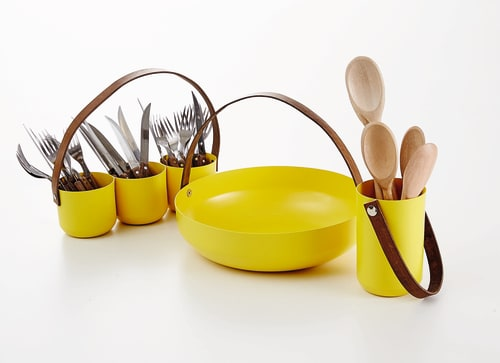 Utensils by NDT.design seen at NDT.design Studio, Delray Beach - Basket Collection